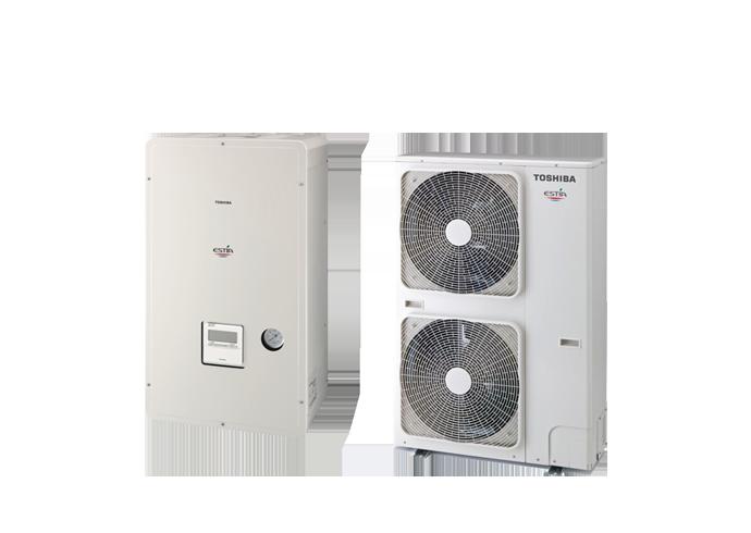 Αντλίες θερμότητας Toshiba estia powerful